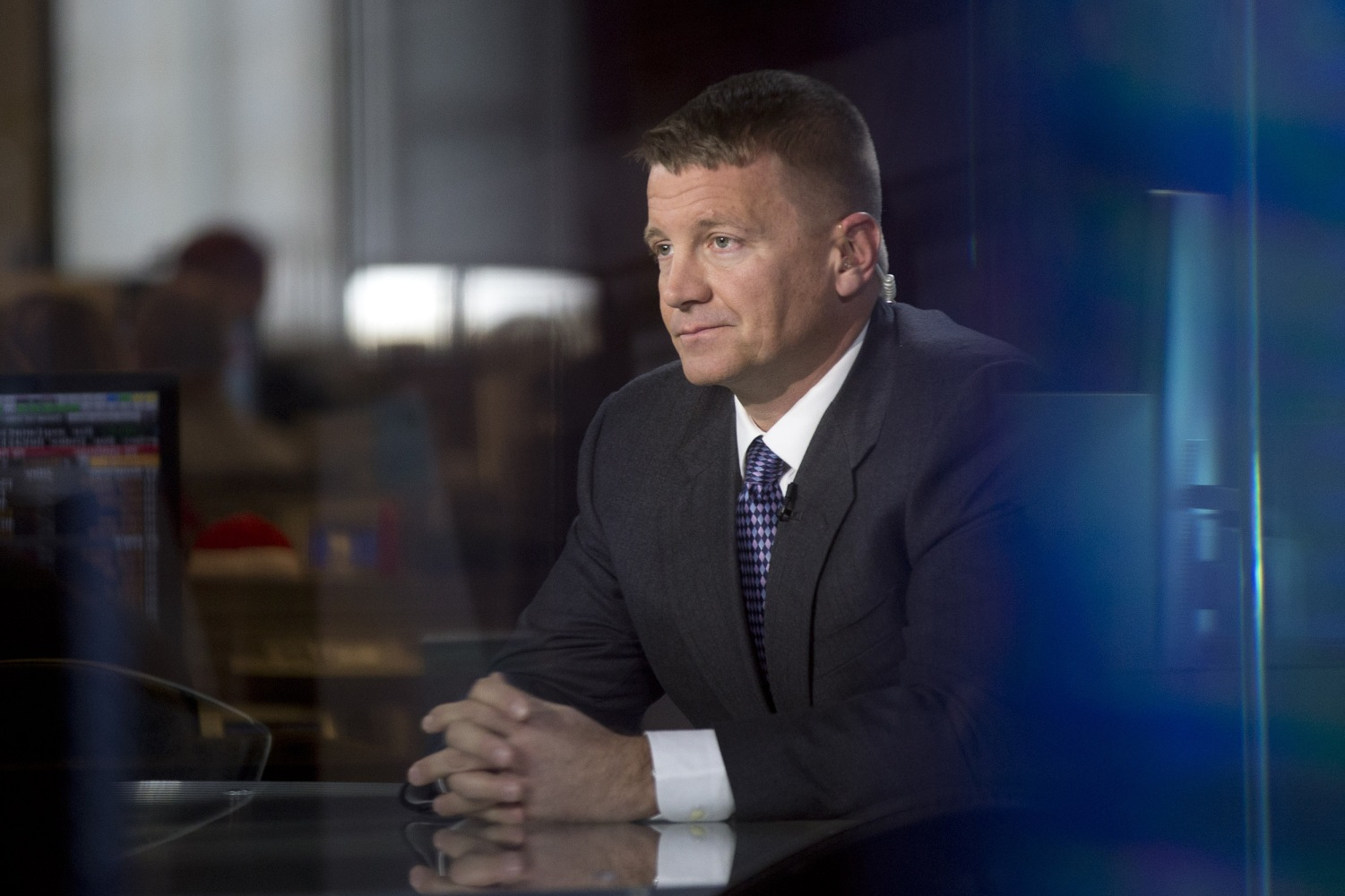 Erik Prince tied to reports of meeting to create Trump-Putin communication