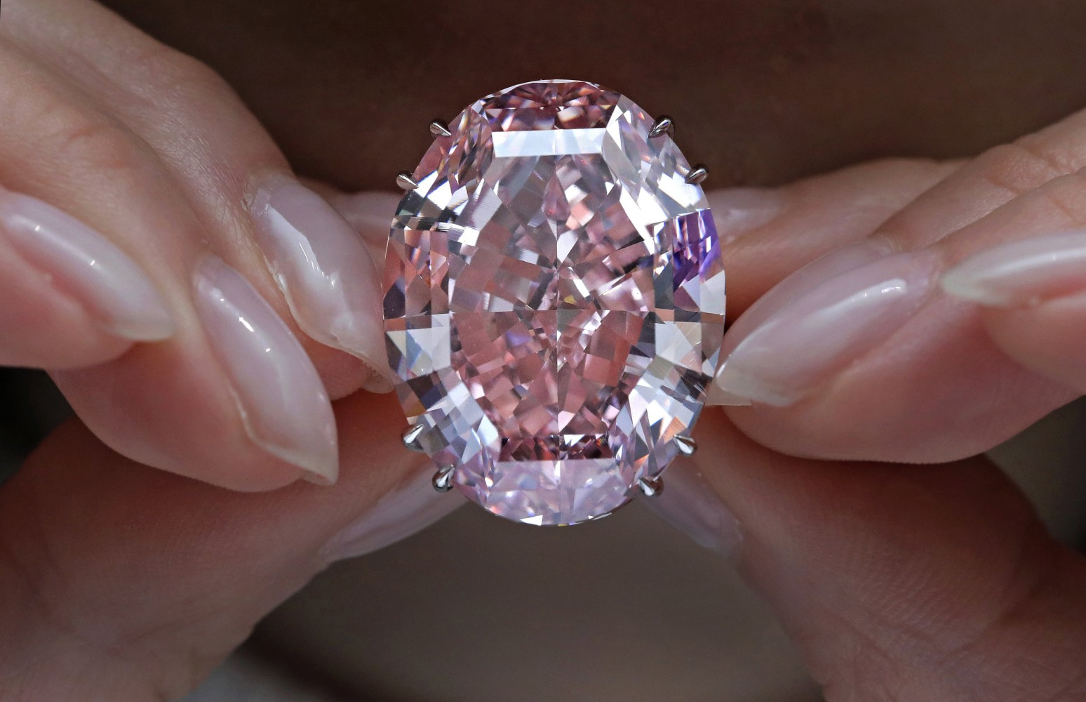 Pink Diamond Auctioned for Record $71.2M in Hong Kong - NBC News