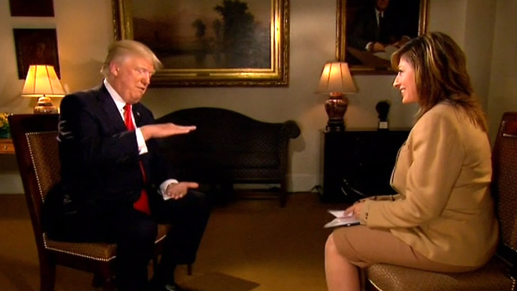Donald Trump Shares Chocolate Cake and 'Great Chemistry' With ...