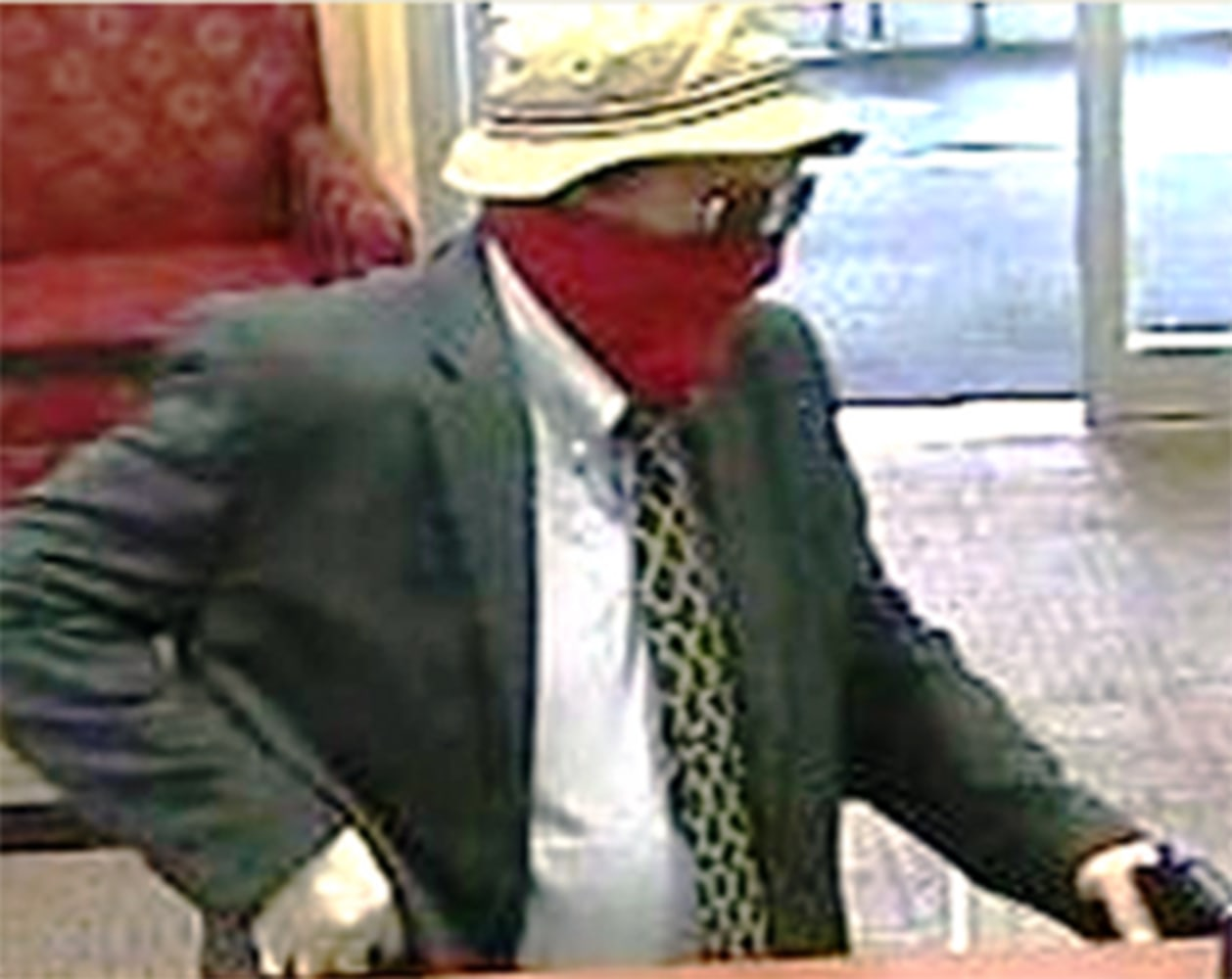 'Straw hat bandit' arrested in 11 Pennsylvania bank robberies