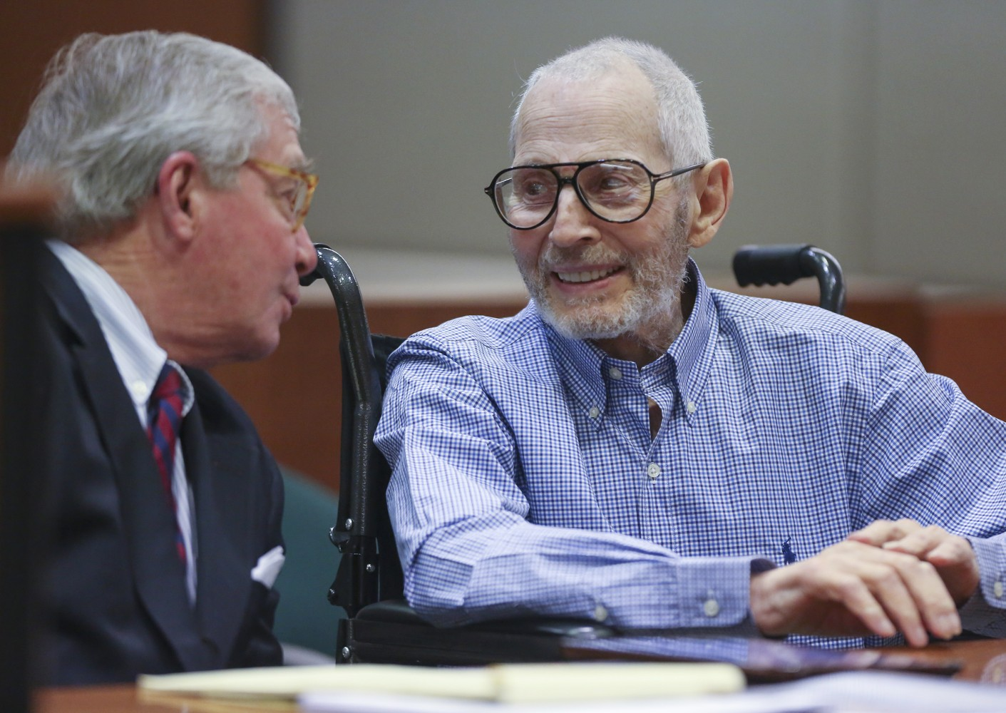Retired NYC Detective: Robert Durst's Wife Told Neighbor of Beating, Threats