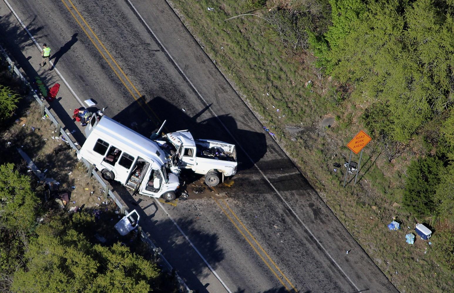 Car Crash Car In Texas