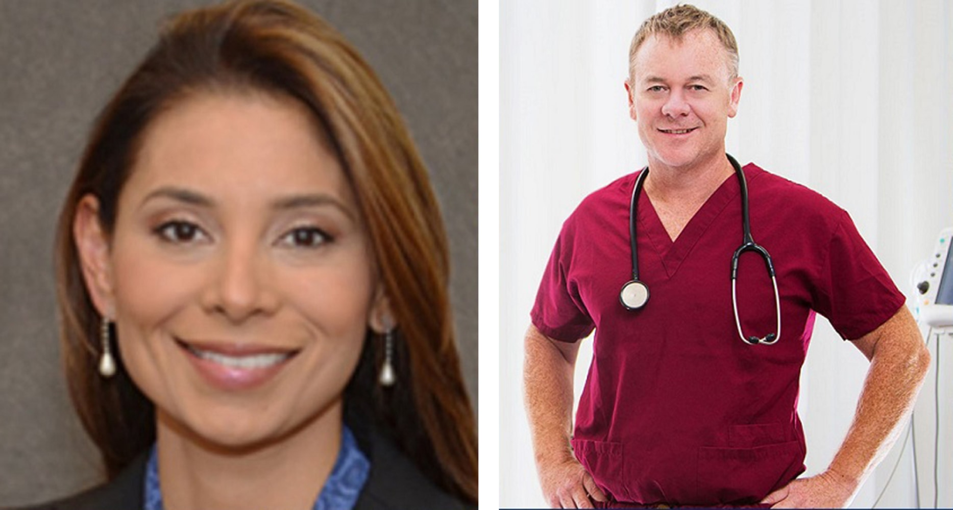 Dr. Lina Bolanos, Dr. Richard Field NBC News