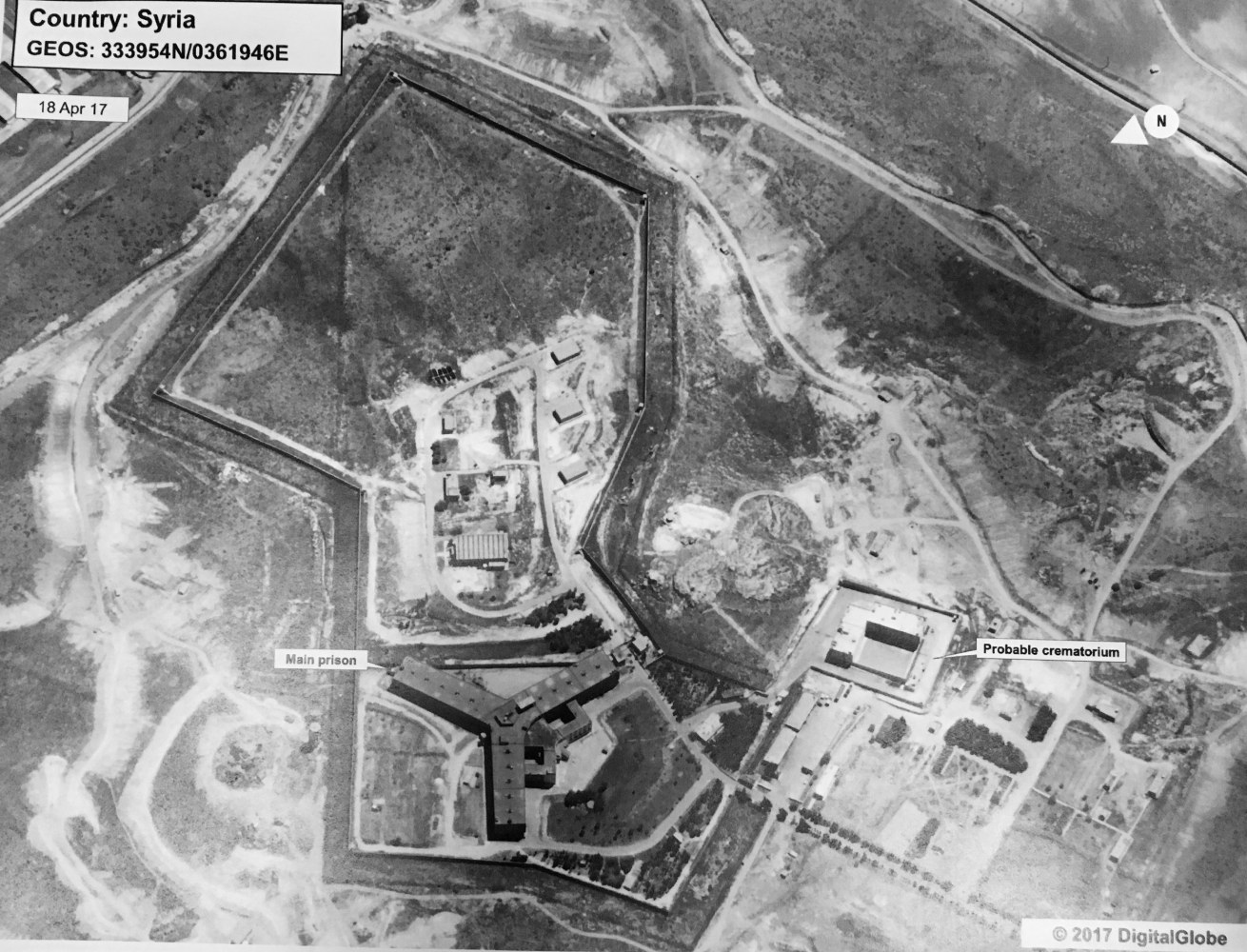 Damascus denies using crematorium in Syrian prison