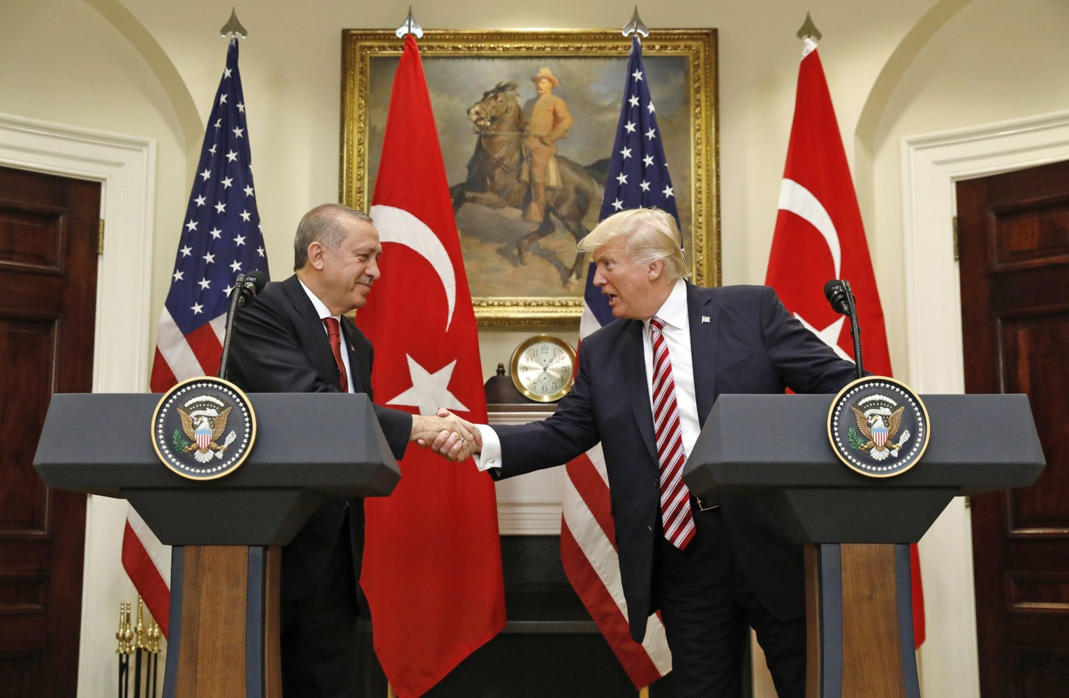 Trump, Erdogan seek to strengthen ties: White House