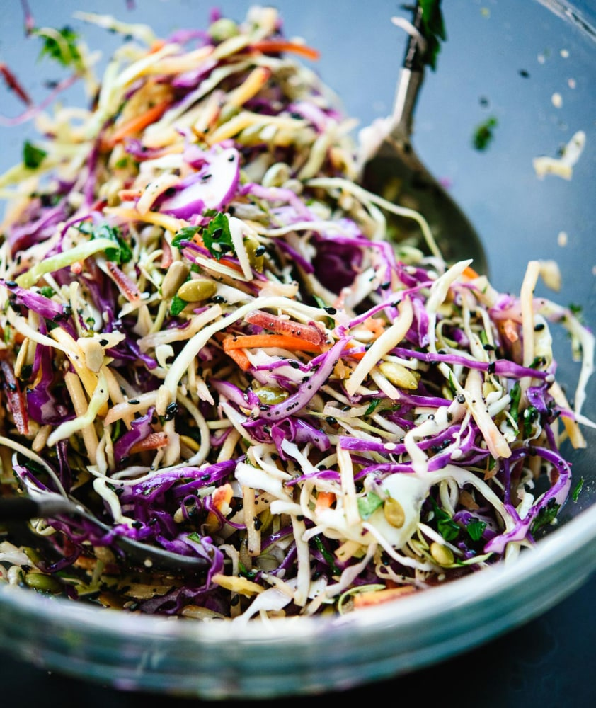 10 Easy Cole Slaw Recipes And Other Cabbage Recipes: 11 Better-for-You Takes On Your Favorite BBQ Staples