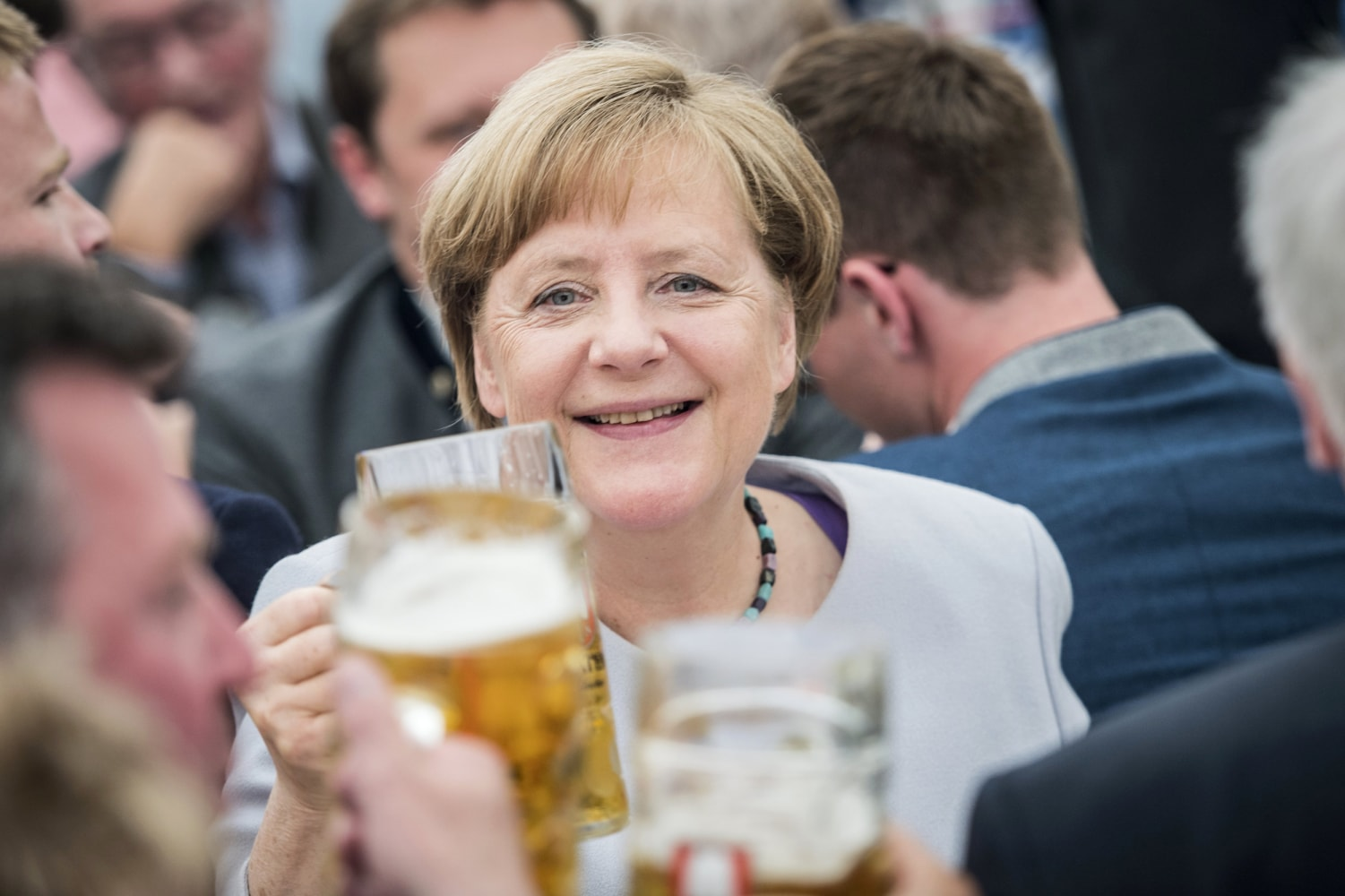 GERMANY: Europe can't rely on US, UK - Merkel