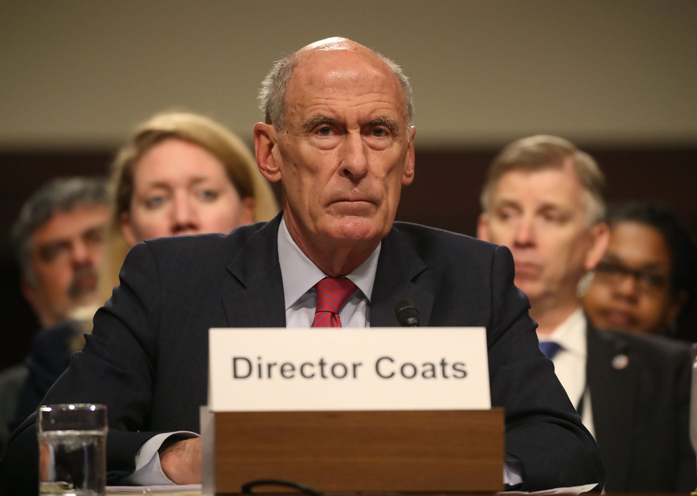 Image result for PHOTOS OF DAN COATS ROGERS