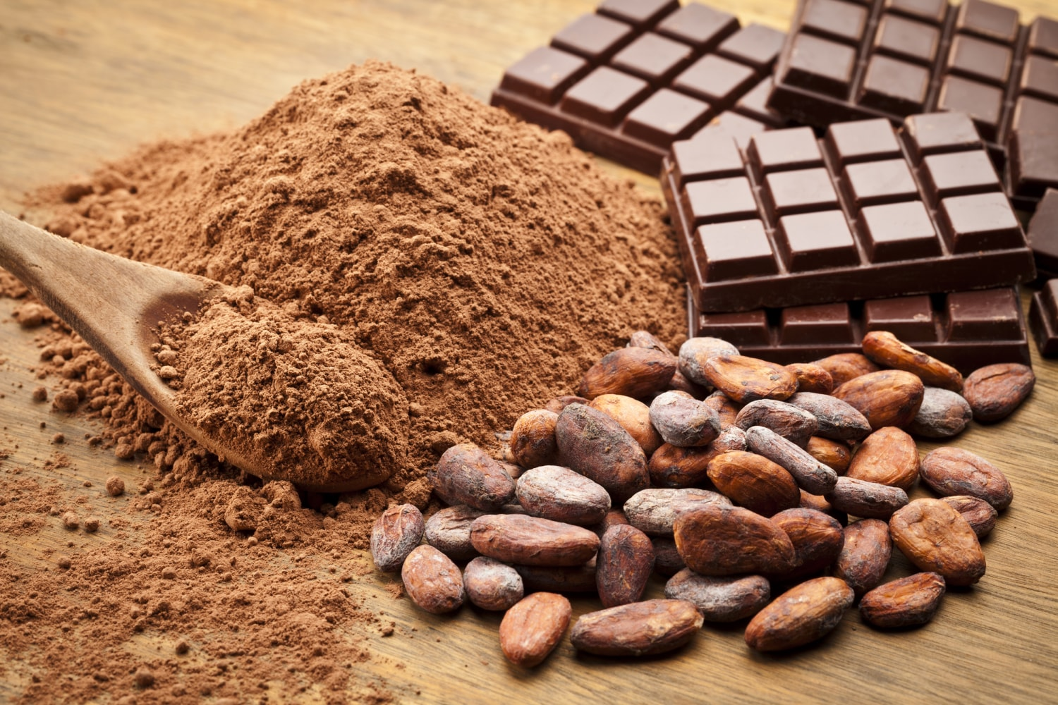 Is cacao chocolate