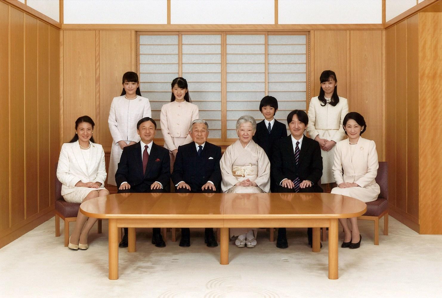 japan 39 s royal household faces major challenges in line of succession nbc news. Black Bedroom Furniture Sets. Home Design Ideas