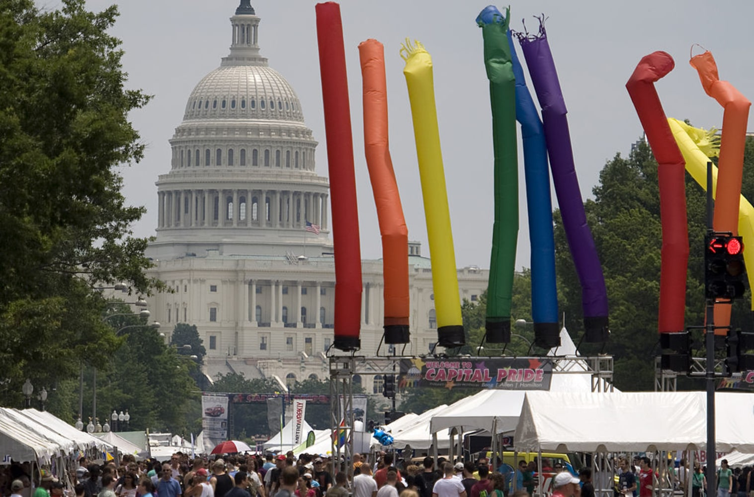 Across US, thousands rallying and marching for LGBT rights