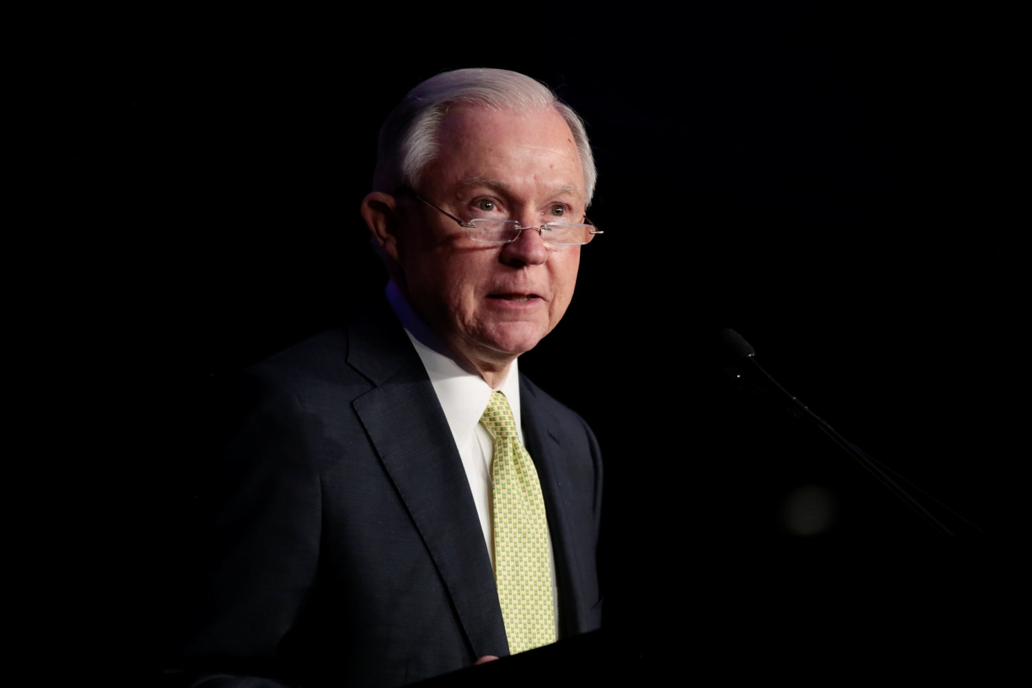 Image U S Attorney General Jeff Sessions Addresses The National Law Enforcement Conference On Human Exploitation