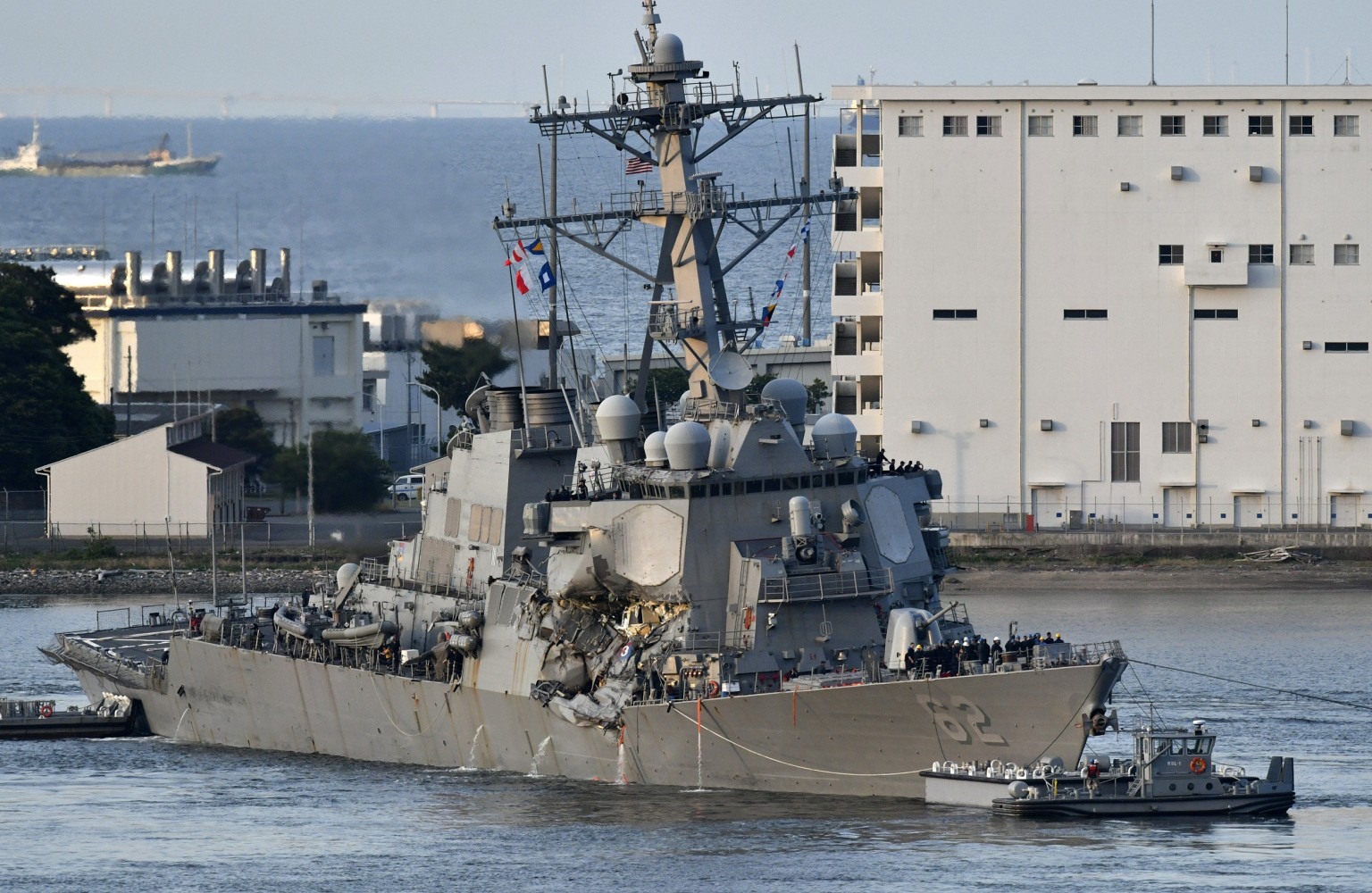 'No. of missing' USS Fitzgerald sailors found dead