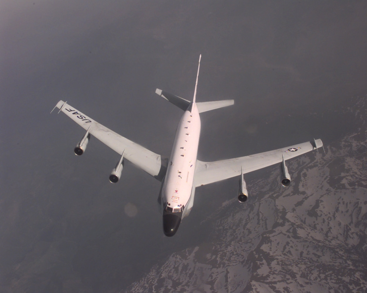 Russian fighter jet flies within five feet of American spy plane