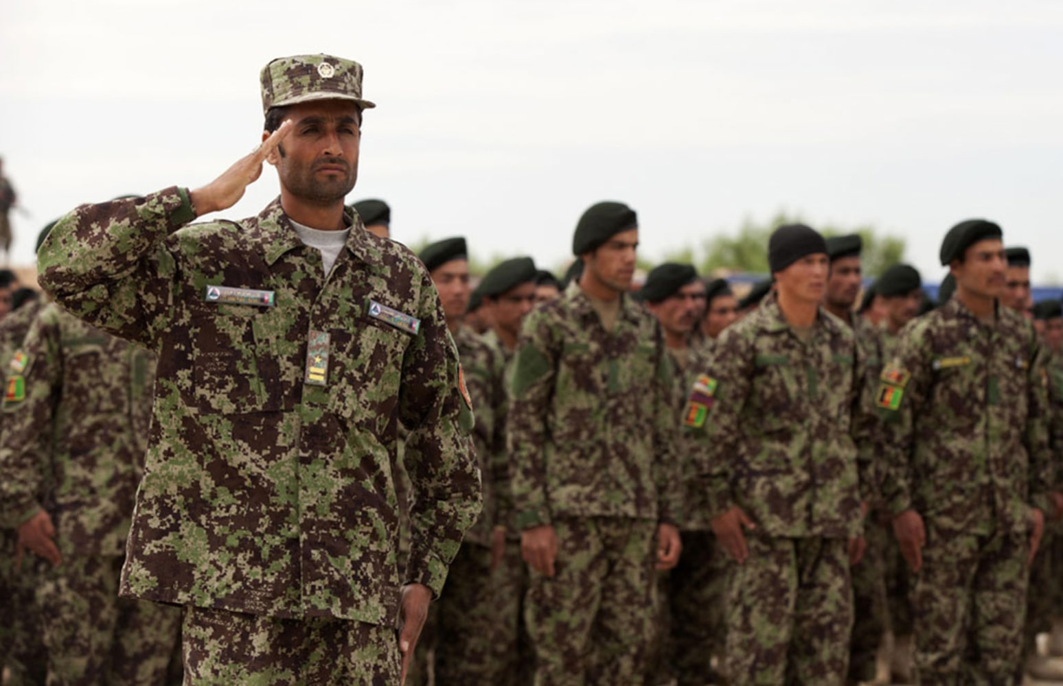 Pentagon Wastes $28 Million On Afghan Uniforms With The Wrong Camo