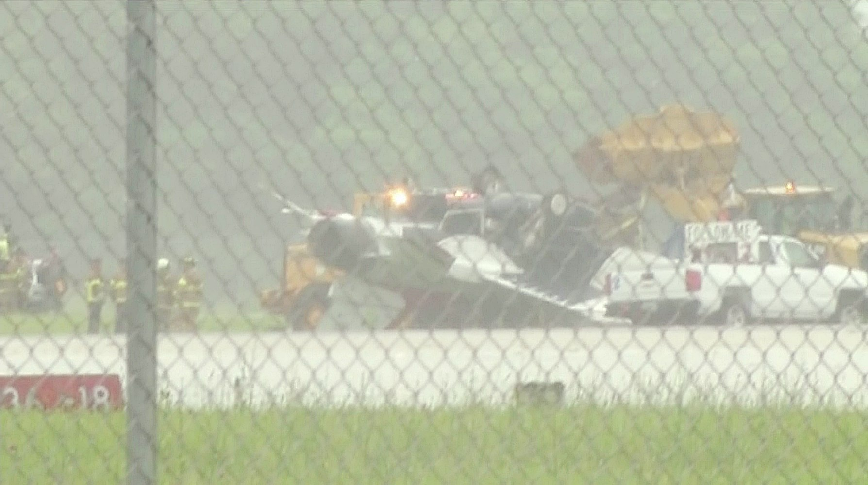2 on Thunderbirds jet in Ohio accident taken to hospital