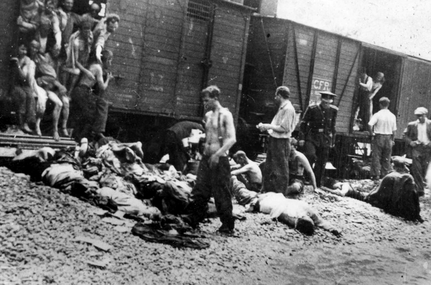 Image result for death train holocaust