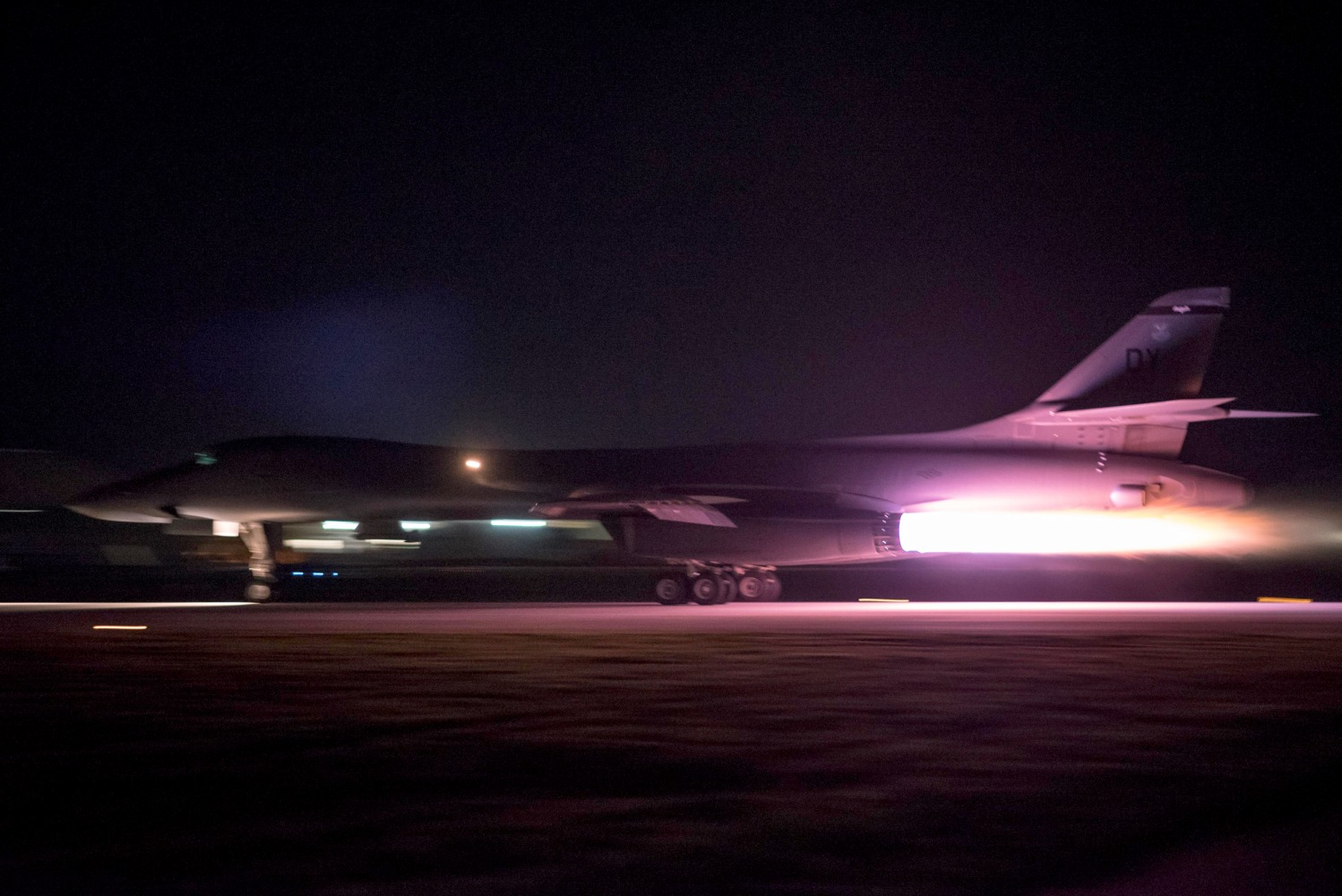 Air Force sends B-1 bombers to Korean Peninsula