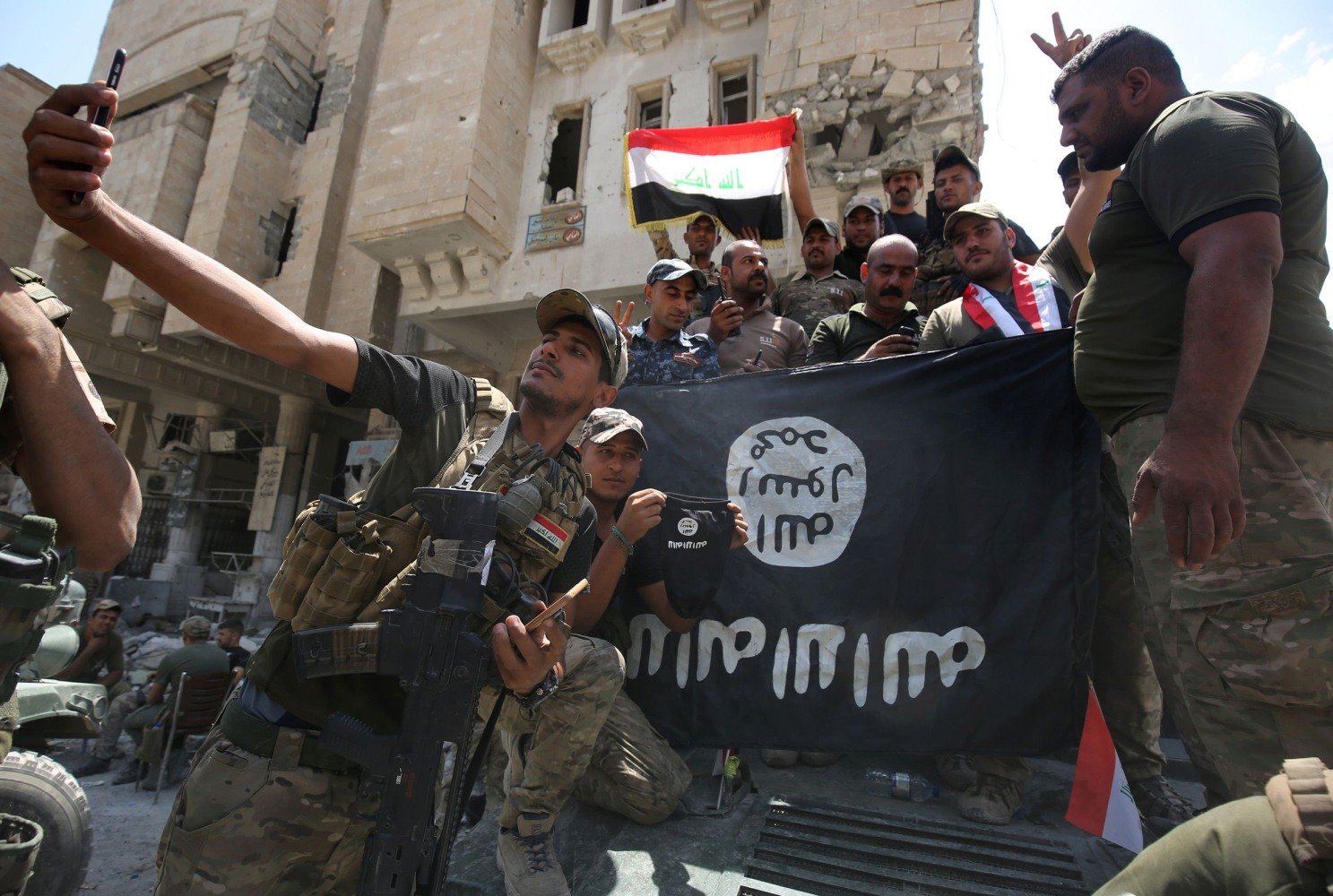 Iraq says war against ISIS is over: 'Your land' is liberated - NBC News