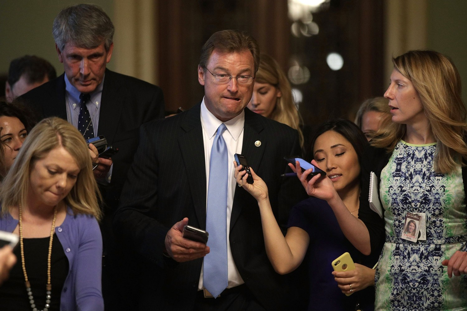 GOP's vulnerable Sen. Dean Heller gets a primary challenger
