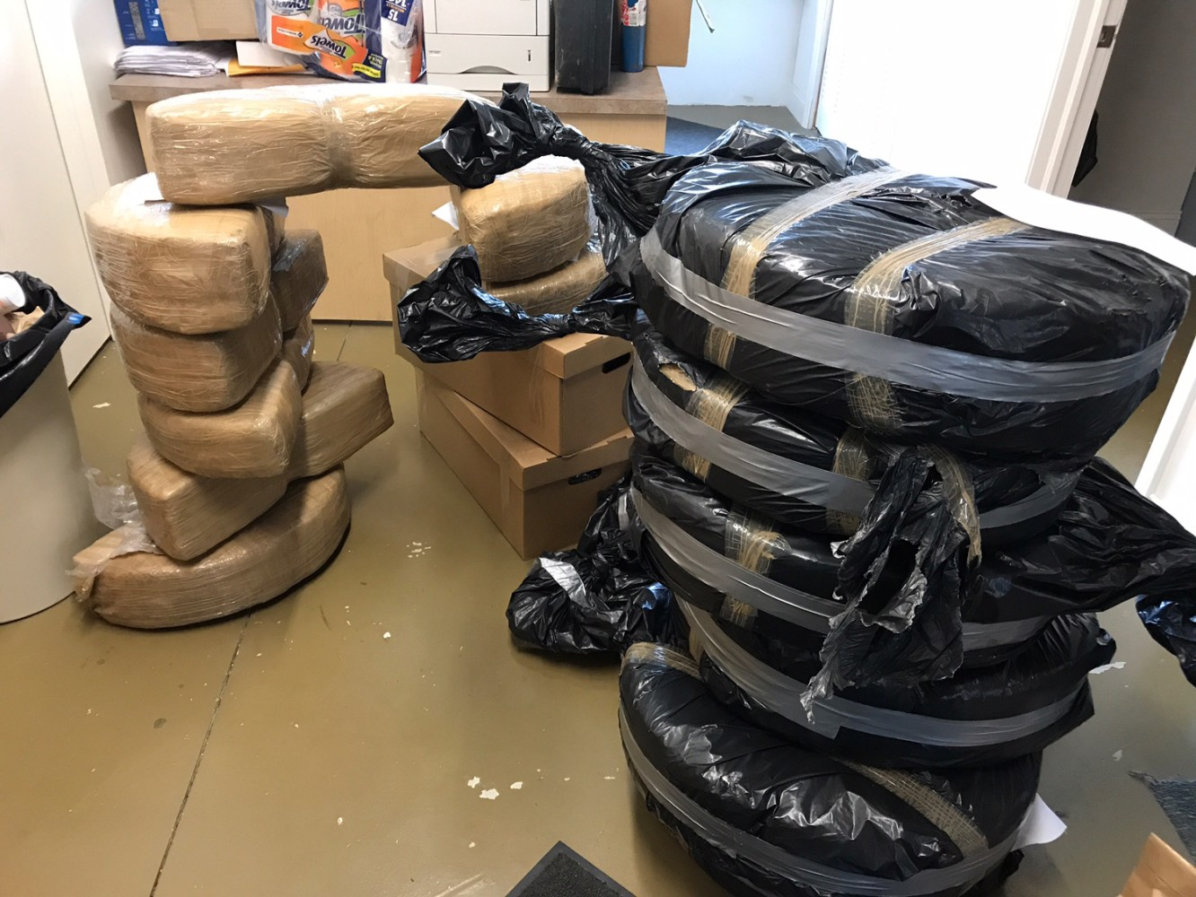 Agents seize 480 pound pot shipped from Mexico to Warren area