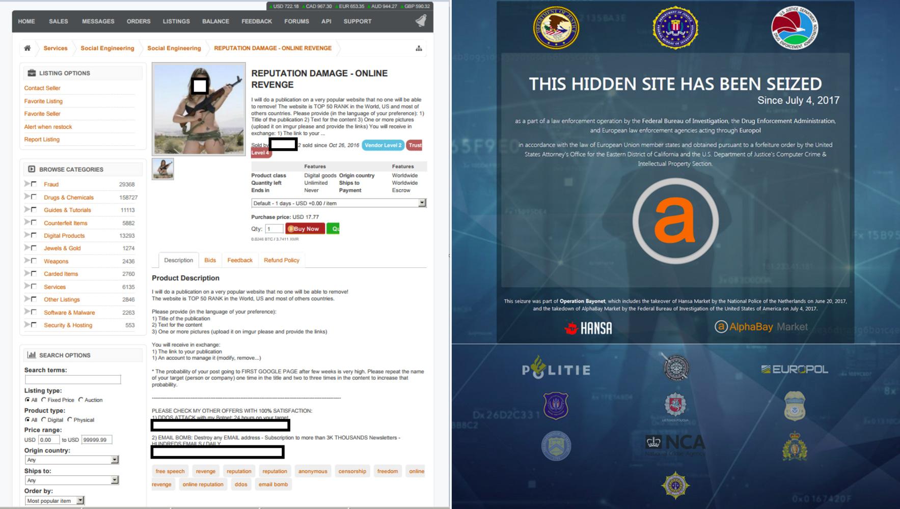 Image result for AlphaBay