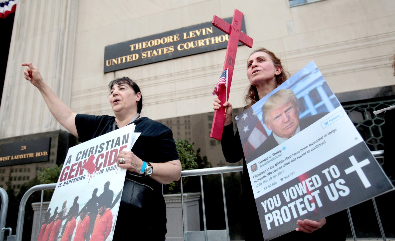 Federal Judge in Detroit Blocks Mass Deportation of Iraqis