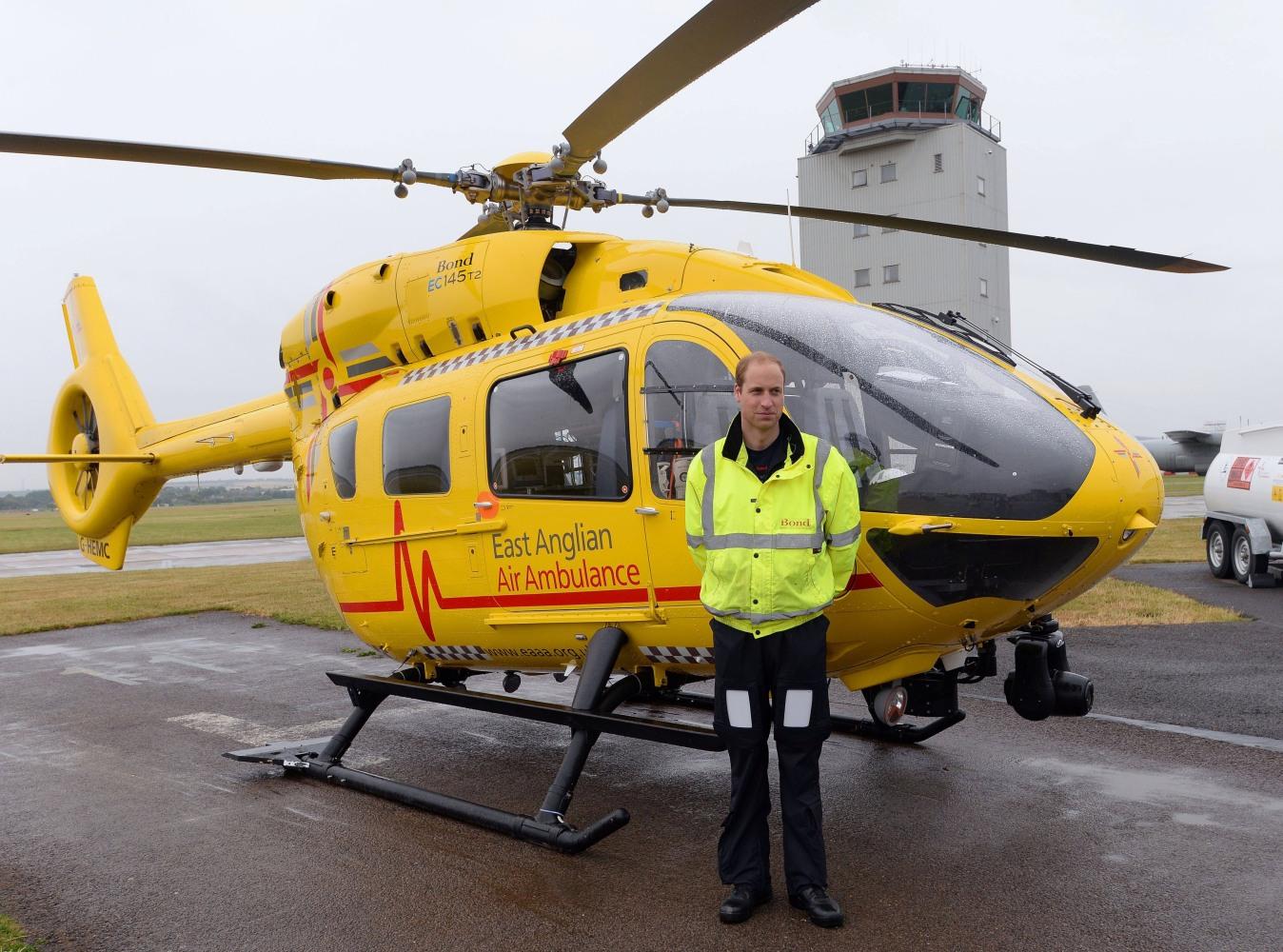 Prince William leaves pilot job for United Kingdom royal duties