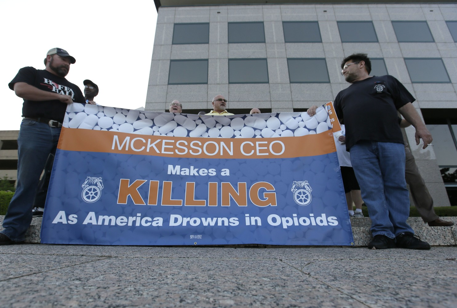 Teamsters Wary of McKesson's Promise to Split Top Roles