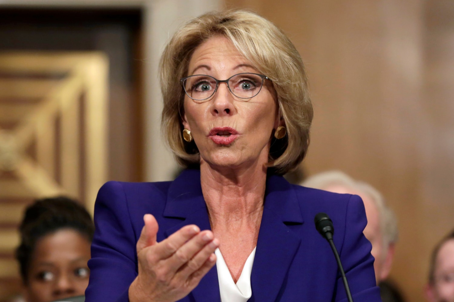 Secretary of Education Betsy DeVos Rolling Back Sexual Assault Protections