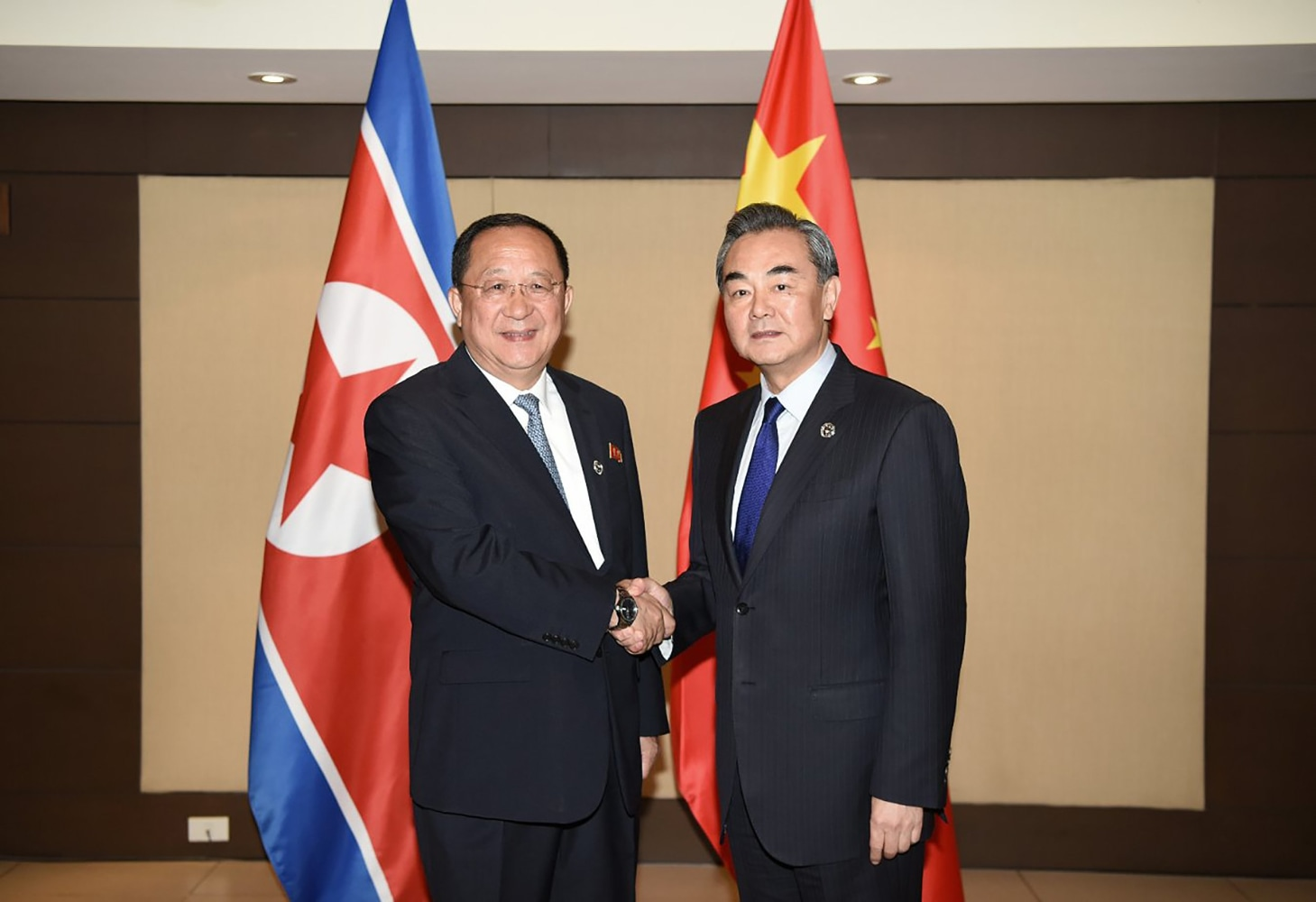 North Korean foreign minister meets with South Korean counterpart at ASEAN