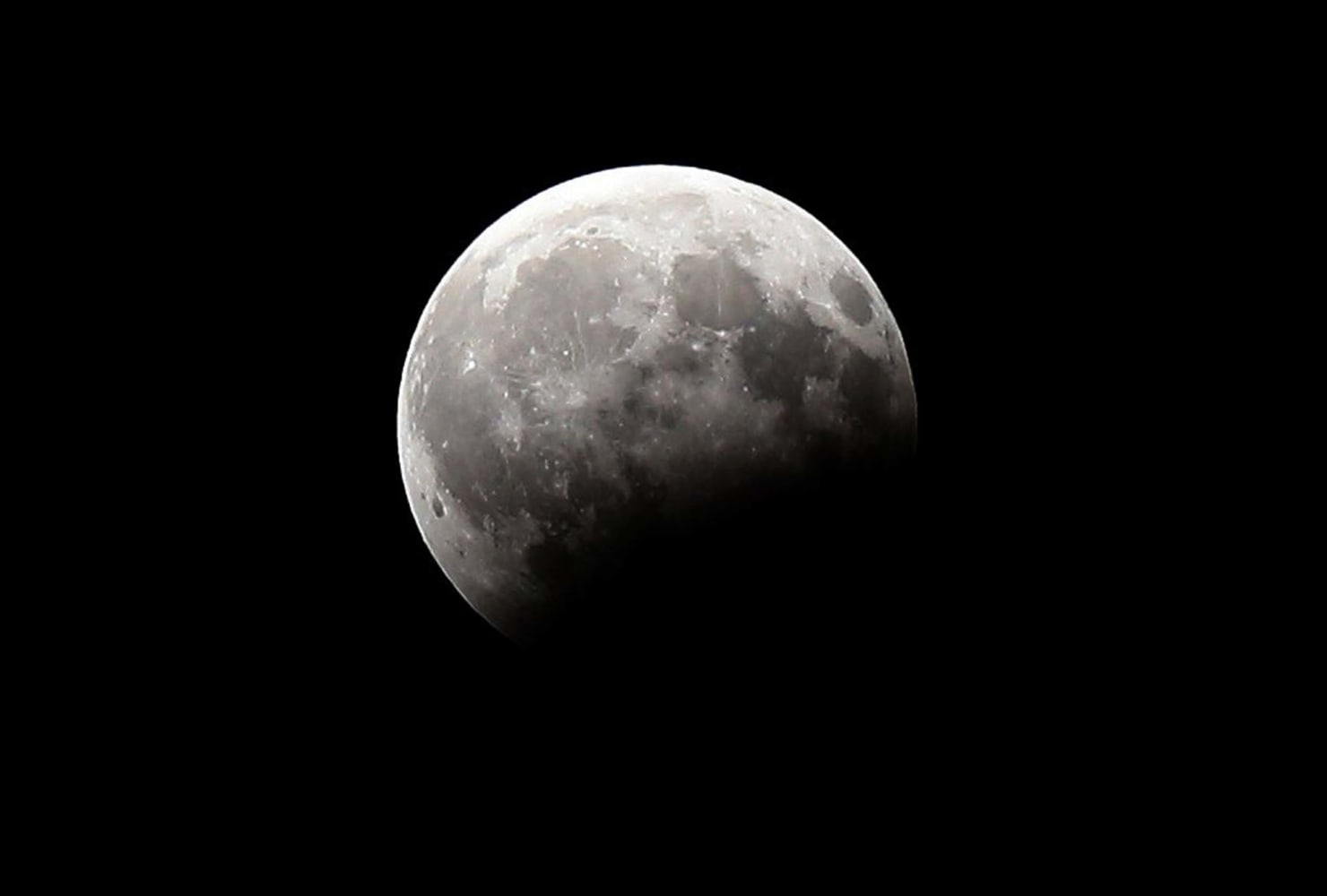 Stargazers Enjoy Lunar Eclipse Across Parts of Europe and ...