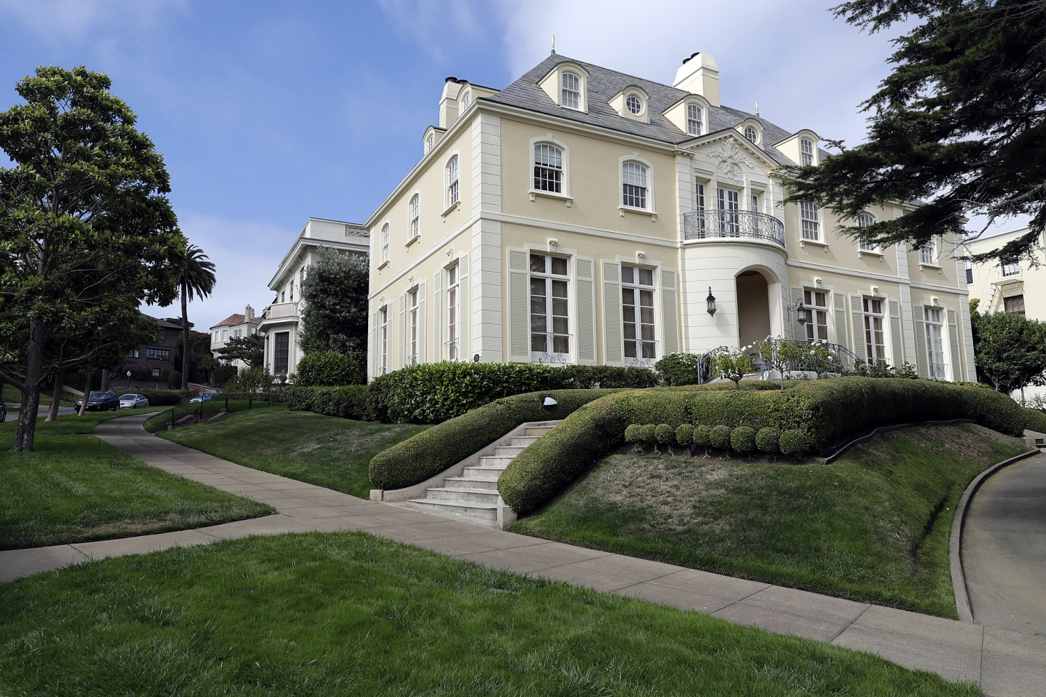 San francisco couple buys swanky presidio terrace for for Where is terrace