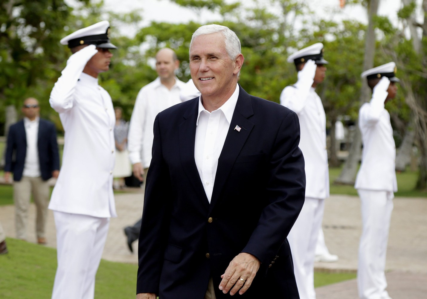 Pence urges Latin American nations to cut ties with N. Korea