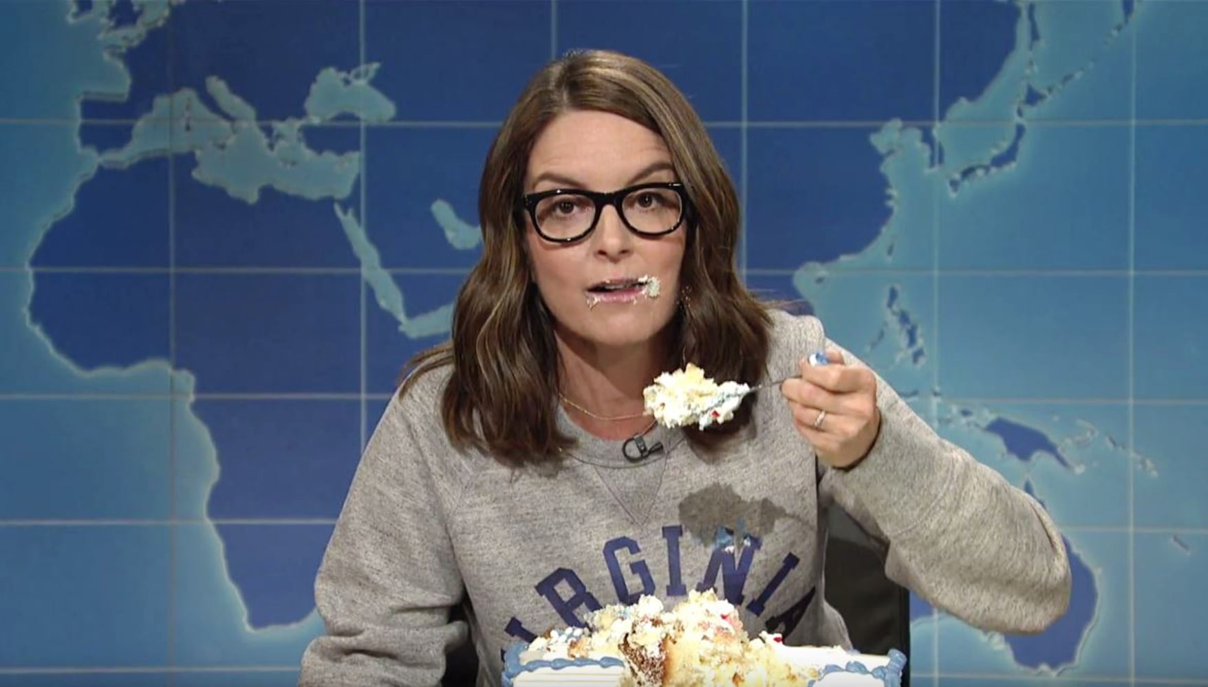 Tina Fey returns to 'SNL Weekend Update' to slam Trump, Ryan