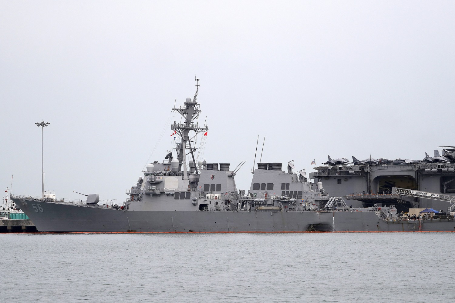 Joseph Aucoin : US Navy dismisses commander after deadly warship collision