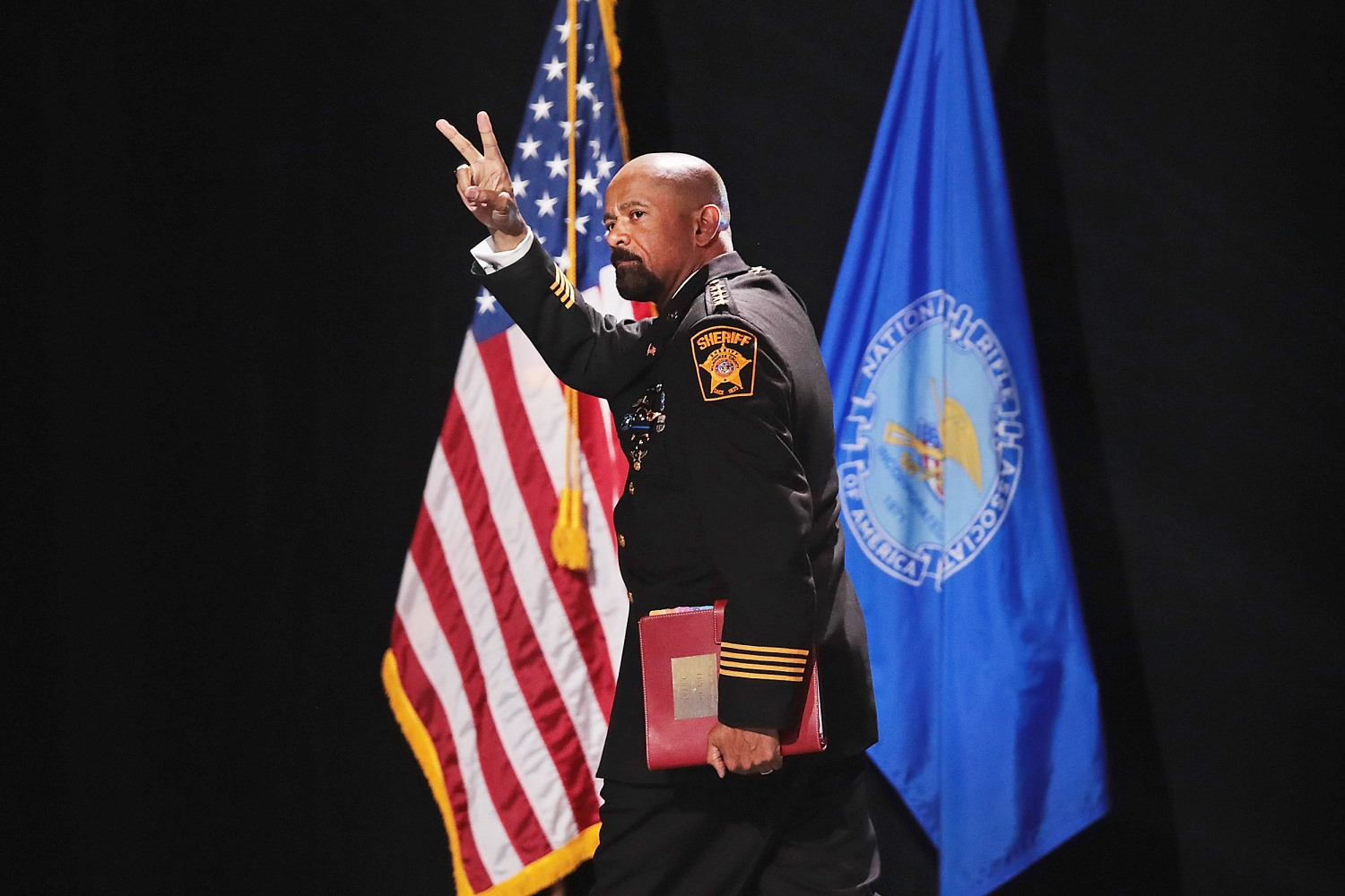 Milwaukee sheriff David Clarke has resigned, county clerk says
