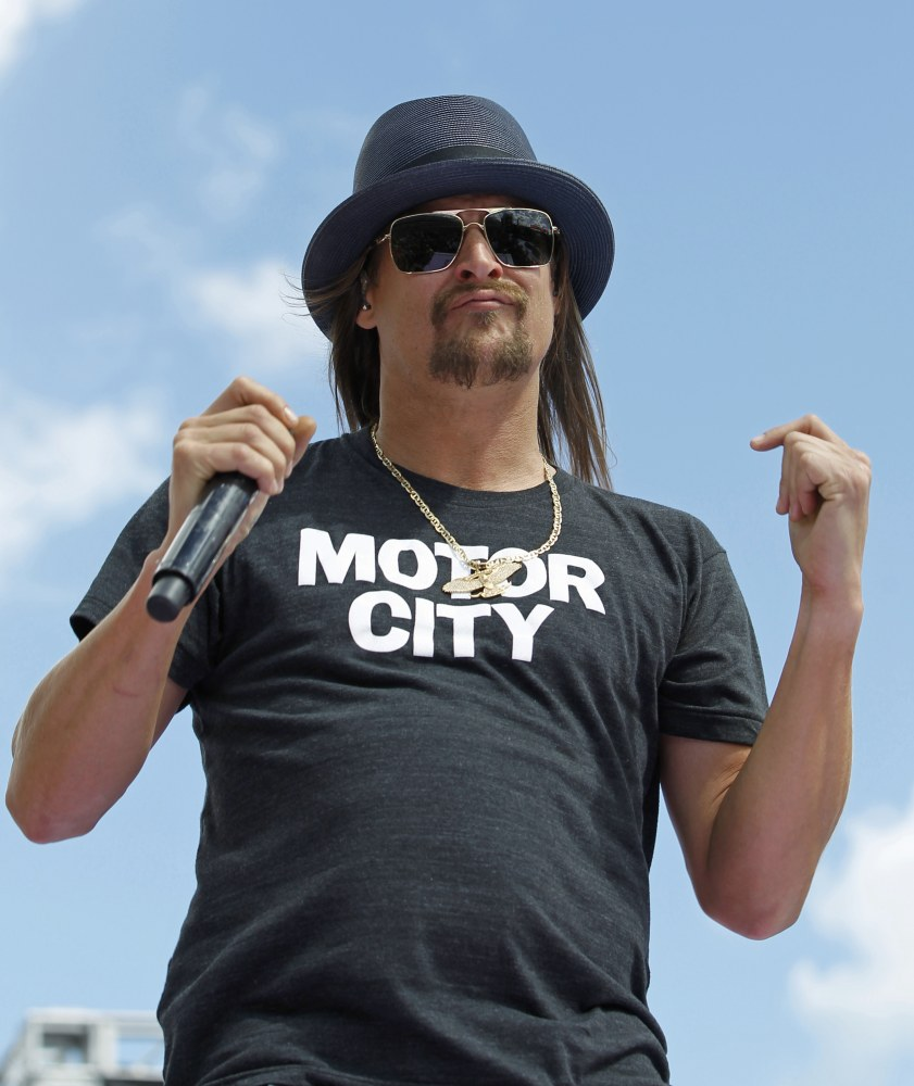 Civil rights groups plan to protest Kid Rock concerts in Detroit