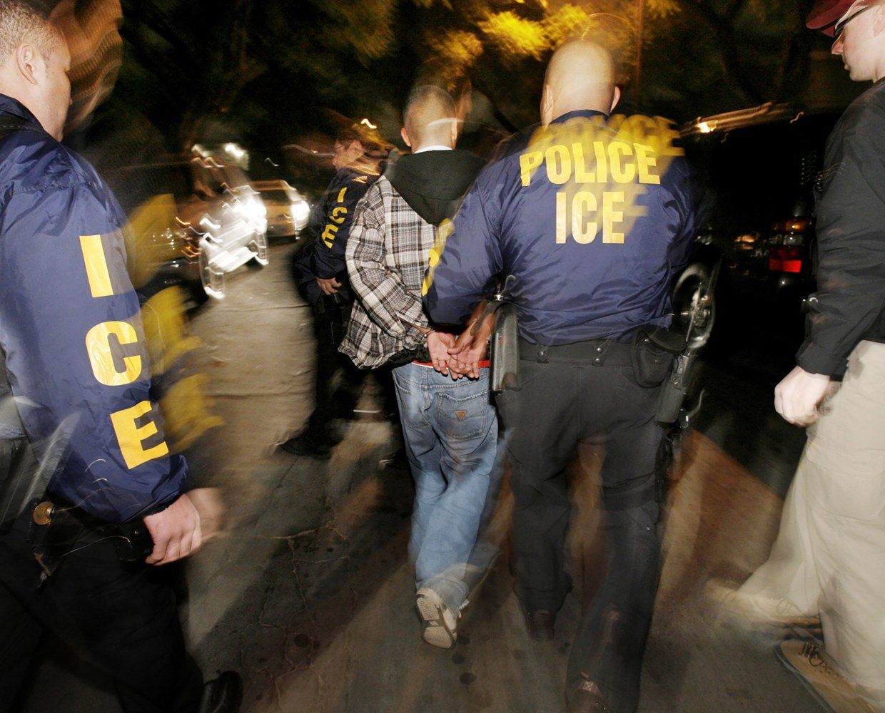 ICE Cracks Down on Sanctuary Cities - Arrests Nearly 500 on Immigration Charges