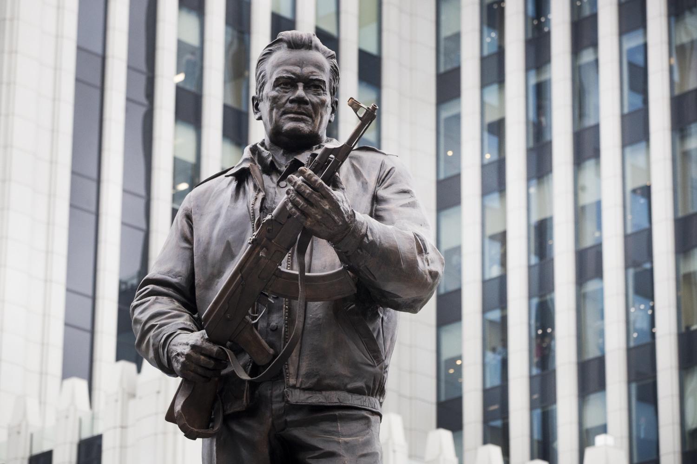Russia Unveils Monument to Mikhail Kalashnikov Designer of Iconic