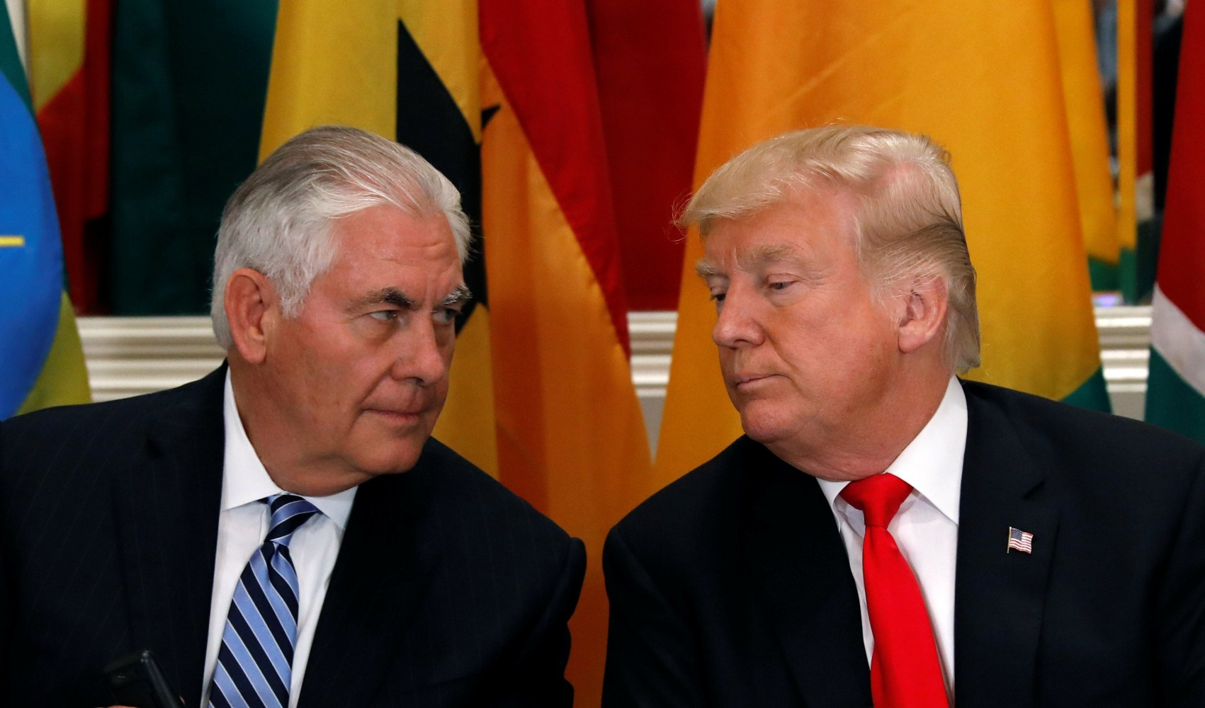 Secretary of State Tillerson to make statement