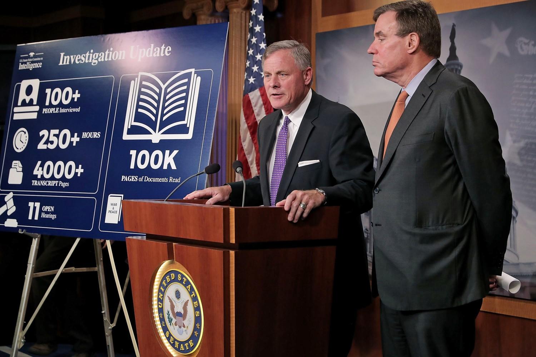 Image Senate Intelligence Committee Leaders Brief The Media On Russia Investigation