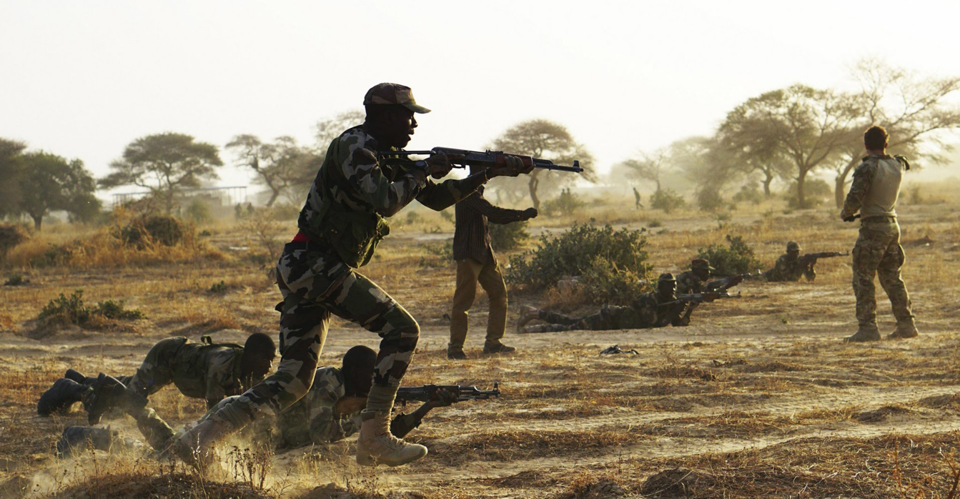 Image result for american soldiers in africa niger