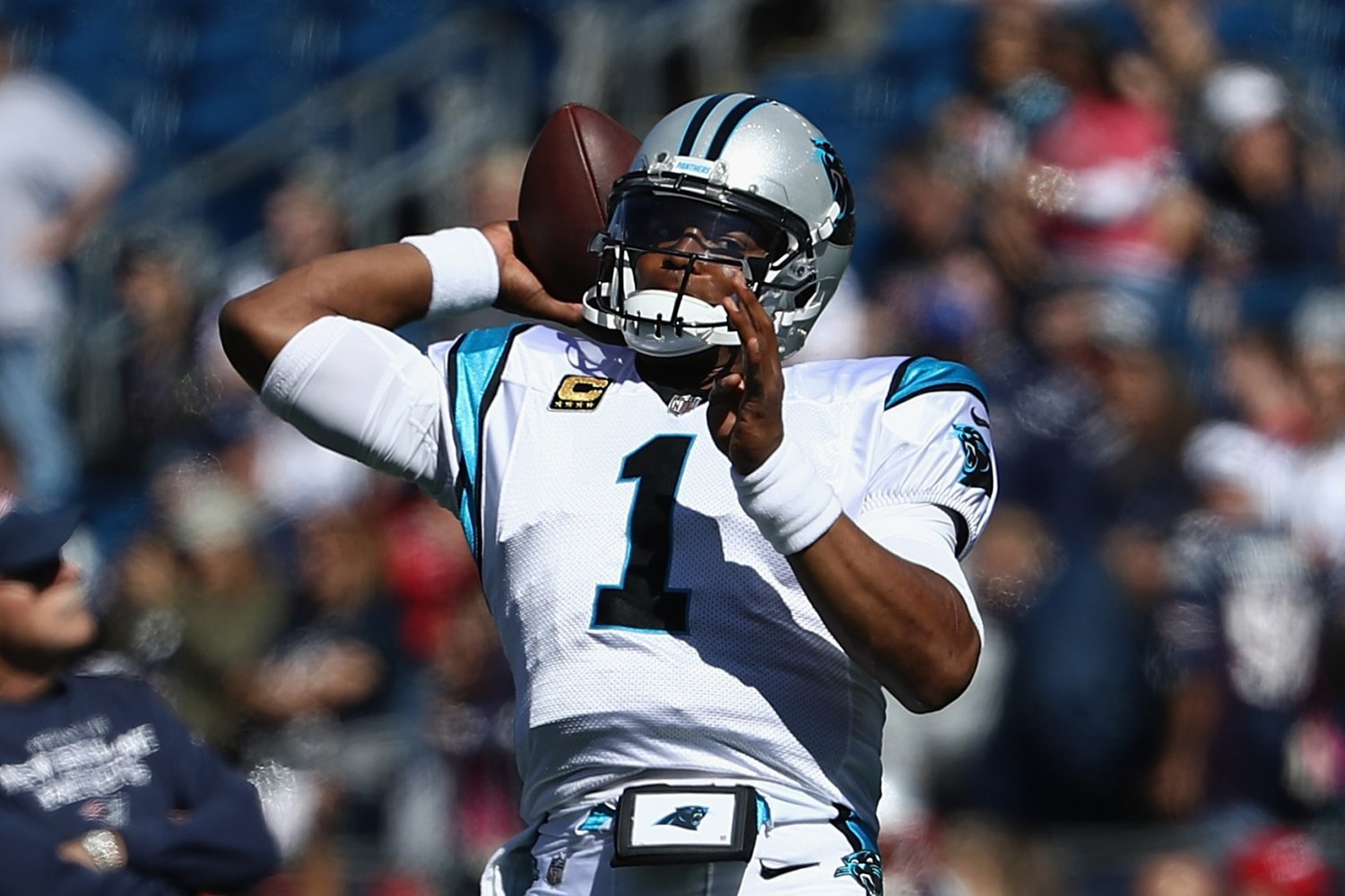 Cam Newton Puts Spotlight on the ism That Women Covering Sports