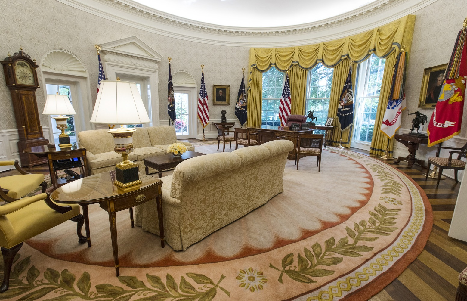 Trump Spending Million On Presidential Furniture Redecorations Nbc News