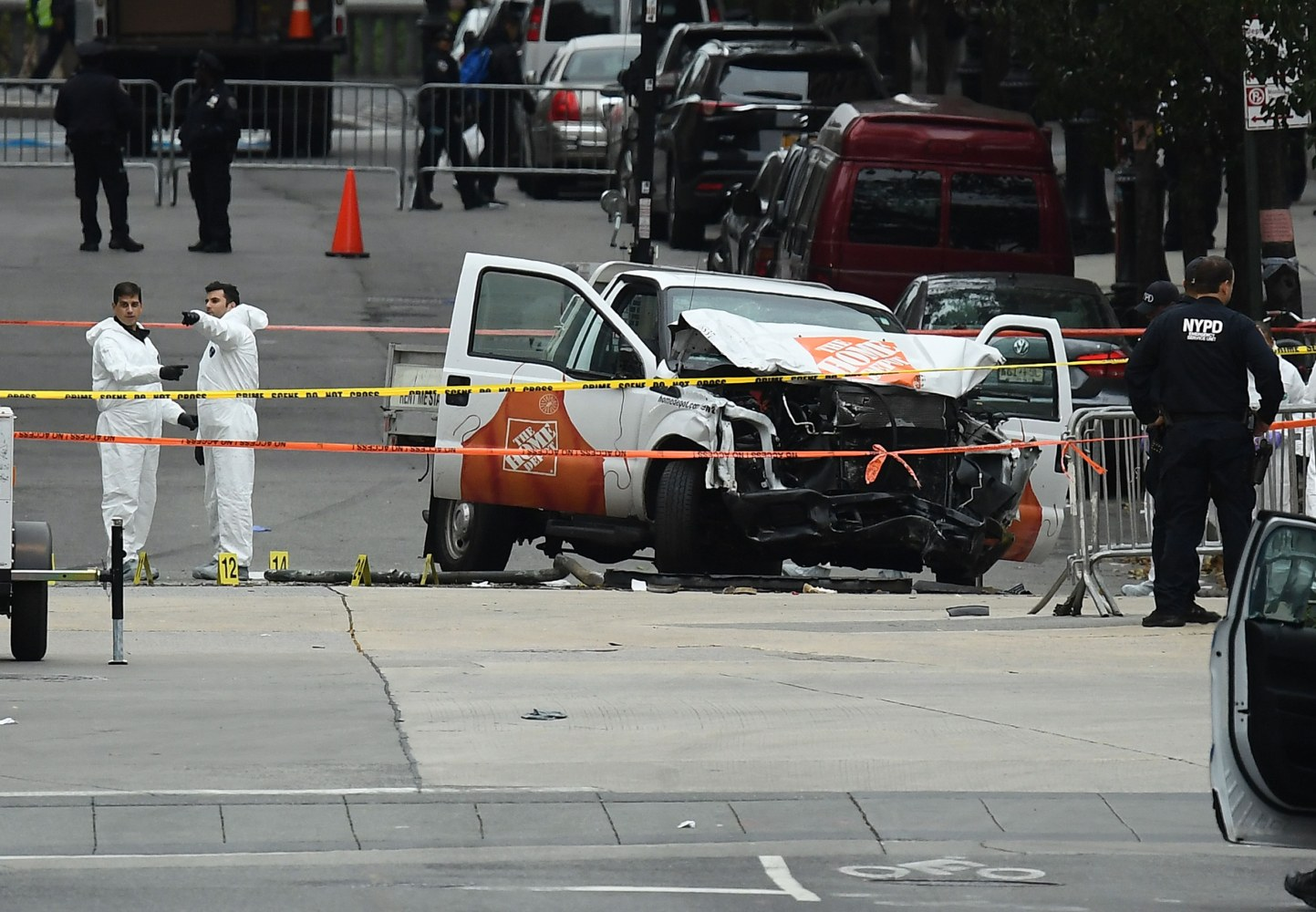 New York Truck Attack Suspect 'Enemy Combatant' - White House