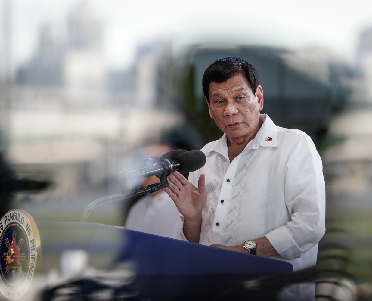 Duterte on meeting with Trump: We did not talk about EJK