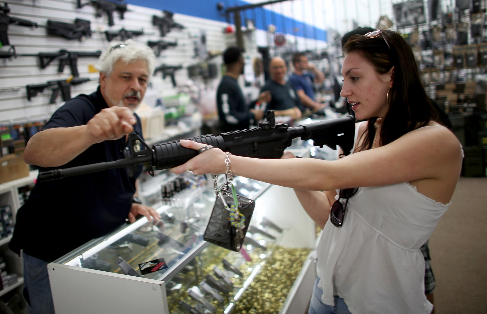 Federal Bureau of Investigation  conducted over 200000 gun background checks on Black Friday