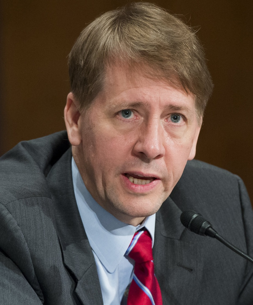 Cordray to resign from United States consumer agency Friday, names replacement
