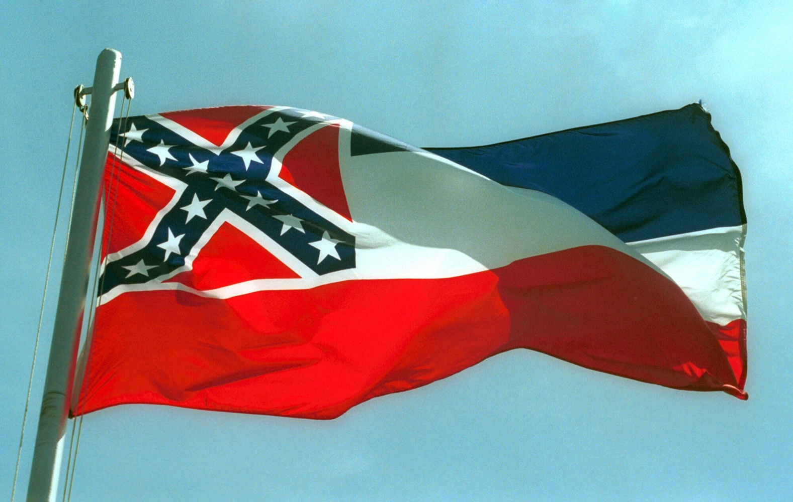 Confederate Symbol Stays In Mississippi Flag